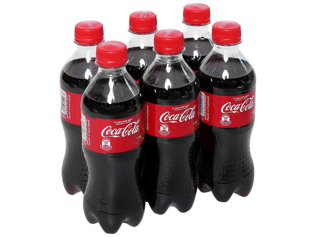 6 chai nước ngọt Coca Cola 390ml 1