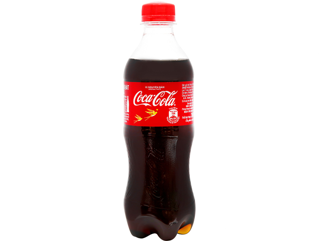 6 chai nước ngọt Coca Cola 390ml 8