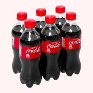 6 chai nước ngọt Coca Cola 390ml