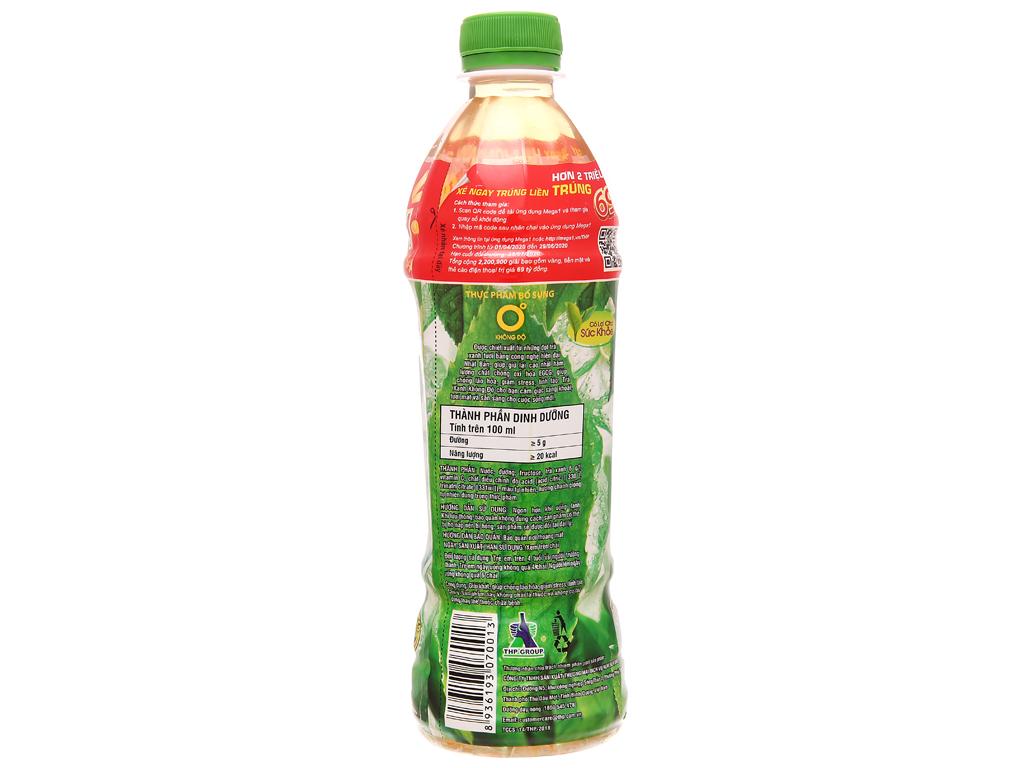 Thùng 24 chai trà xanh Không Độ vị chanh 455ml 3