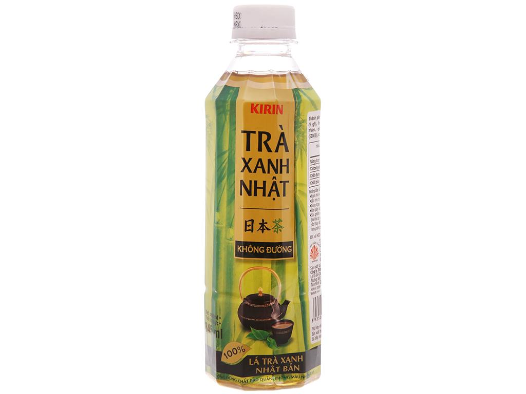 Thùng 24 chai trà xanh Nhật Kirin không đường 345ml 2