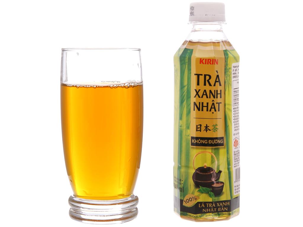 Thùng 24 chai trà xanh Nhật Kirin không đường 345ml 3
