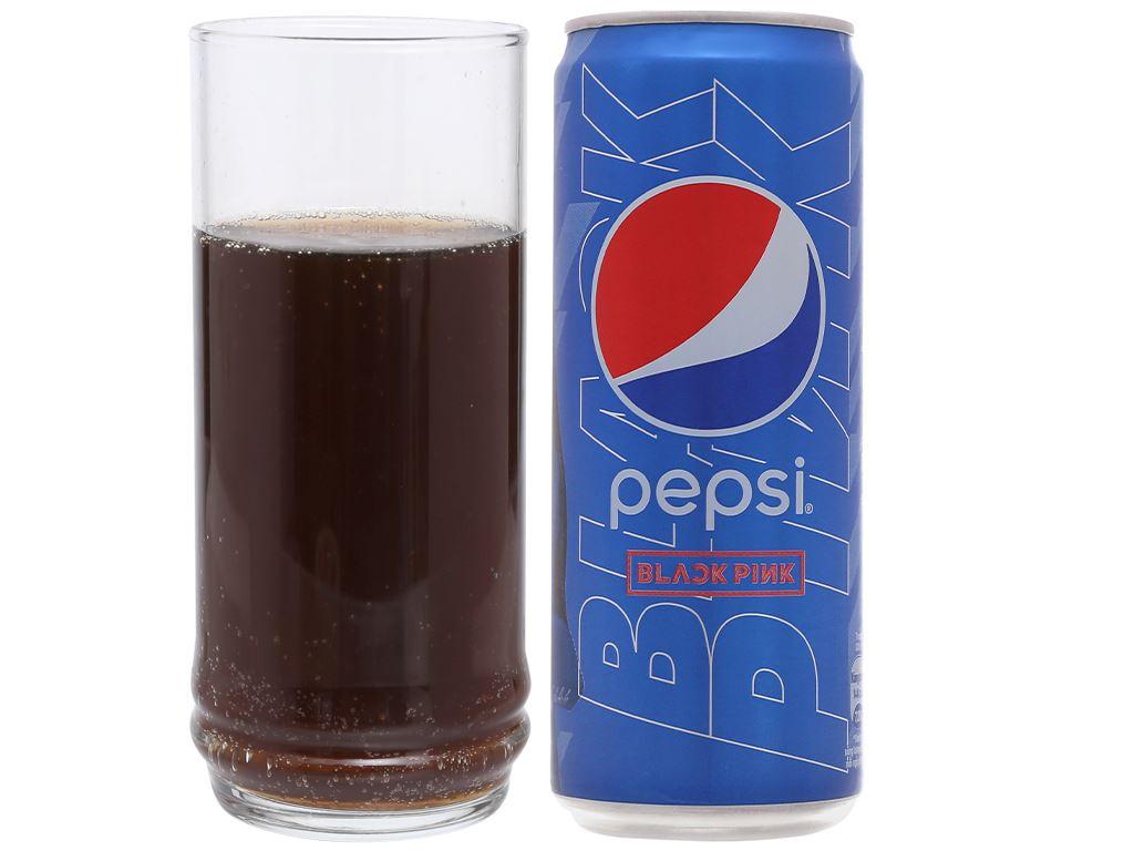 Lốc 6 lon nước ngọt Pepsi Cola 330ml 8
