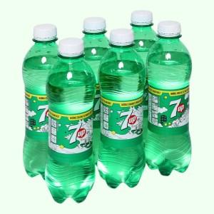 6 chai nước ngọt 7 Up vị chanh 390ml