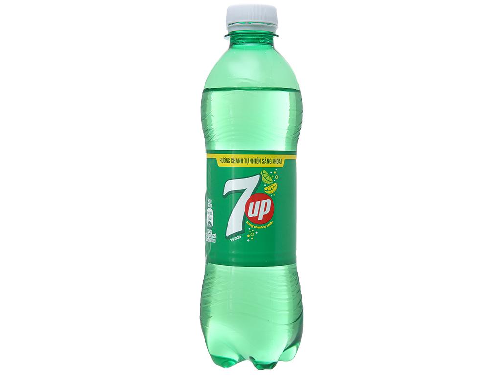 6 chai nước ngọt 7 Up vị chanh 390ml 7