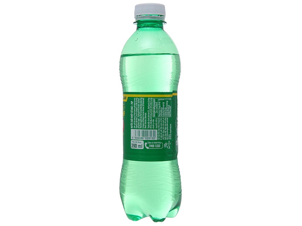 6 chai nước ngọt 7 Up vị chanh 390ml 9