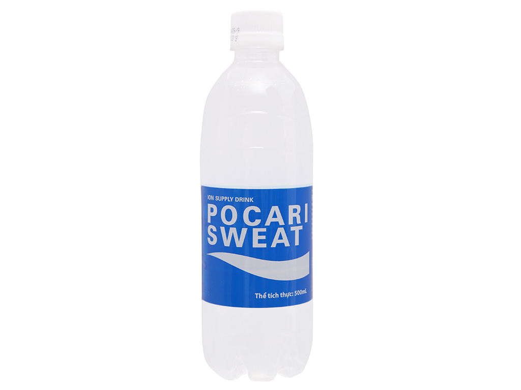 Thùng 24 chai nước khoáng i-on Pocari Sweat 500ml 2