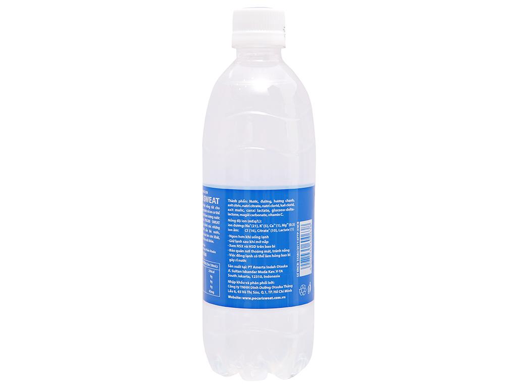 Thùng 24 chai nước khoáng i-on Pocari Sweat 500ml 3