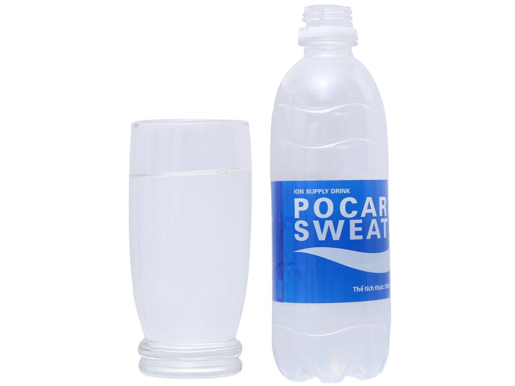 Thùng 24 chai nước khoáng i-on Pocari Sweat 500ml 4