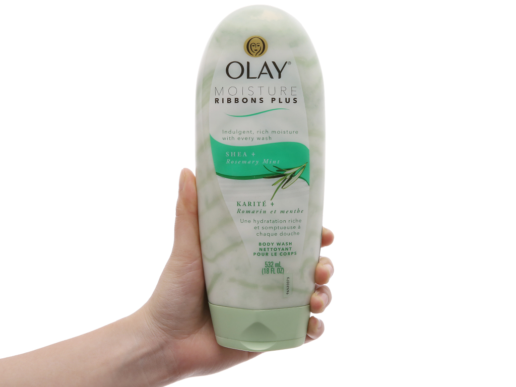Sữa tắm Olay Moisture Ribbons Plus 532ml 4