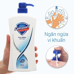 Sữa tắm Safeguard trắng tinh khiết 720ml