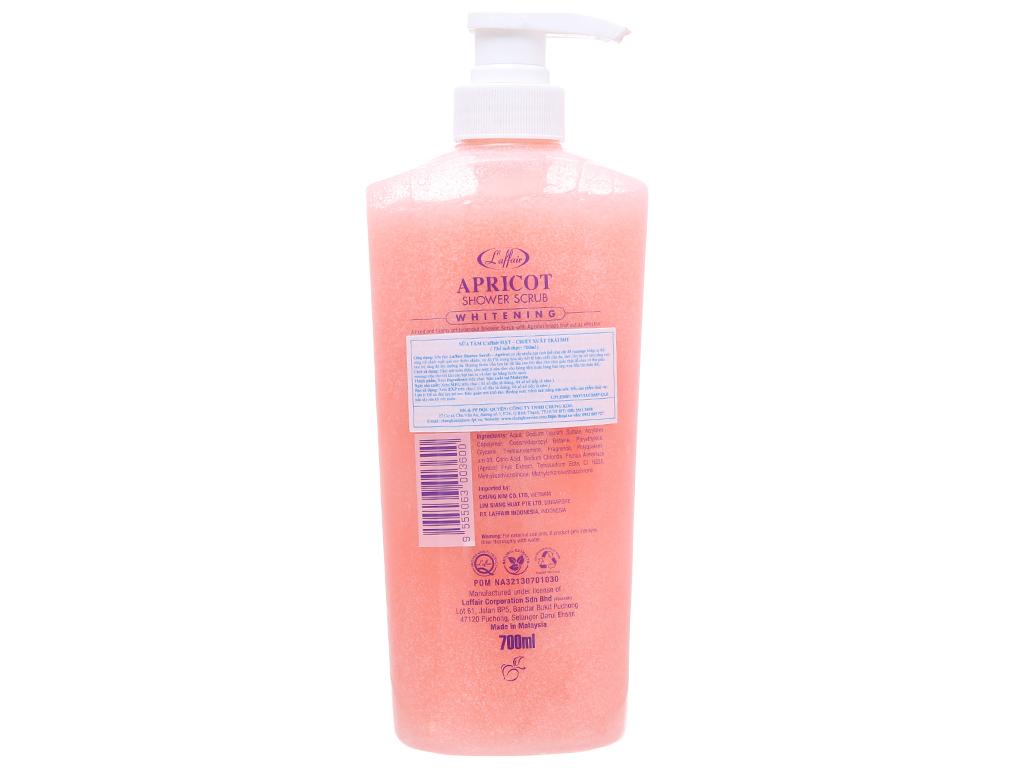 Sữa tắm có hạt L'Affair Apricot chiết xuất trái mơ 700ml 3