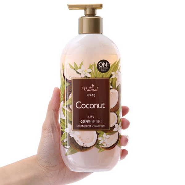 Sữa tắm On The Body Natural Coconut 500g