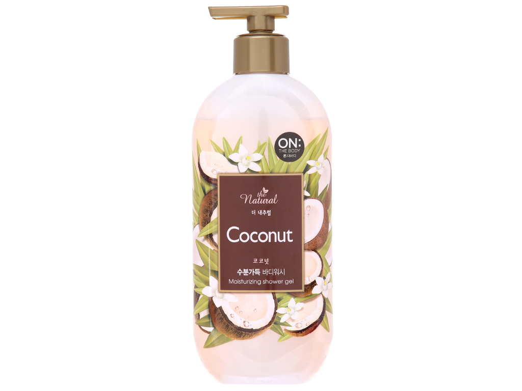 Sữa tắm ON THE BODY Natural Coconut 500g 2