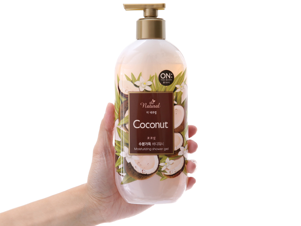 Sữa tắm ON THE BODY Natural Coconut 500g 4