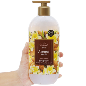 Sữa tắm ON THE BODY Natural Almond & Vanilla 500g