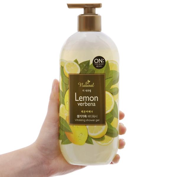 Sữa tắm ON THE BODY Natural Lemon Verbena 500g