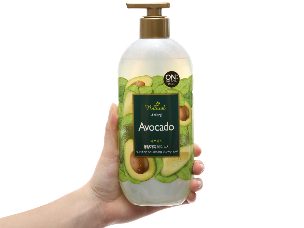 Sữa tắm On The Body Natural Avocado 500g 4