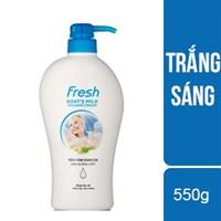 Sữa tắm trắng da Fresh chai 550g