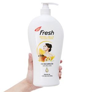 Sữa tắm Fresh dưỡng ẩm sữa ong chúa 1.2kg