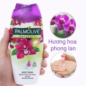 Sữa tắm mịn màng quyến rũ Palmolive hoa phong lan 200g