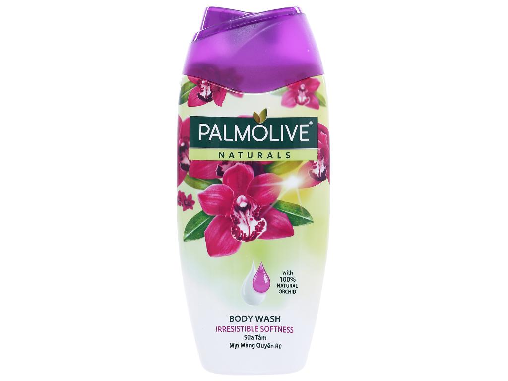 Sữa tắm Palmolive mịn màng quyến rũ hoa phong lan 200g 1