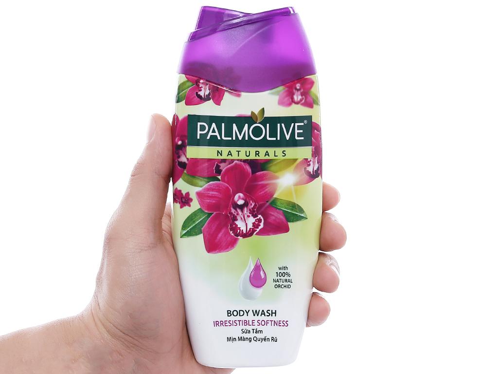 Sữa tắm mịn màng quyến rũ Palmolive hoa phong lan 200g 4