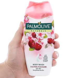 Sữa tắm sảng khoái dịu êm Palmolive hoa anh đào 200g