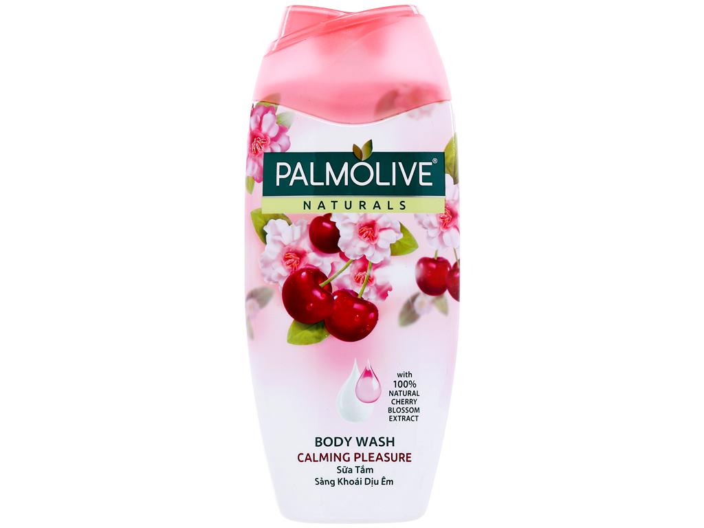 Sữa tắm sảng khoái dịu êm Palmolive hoa anh đào 200g 1
