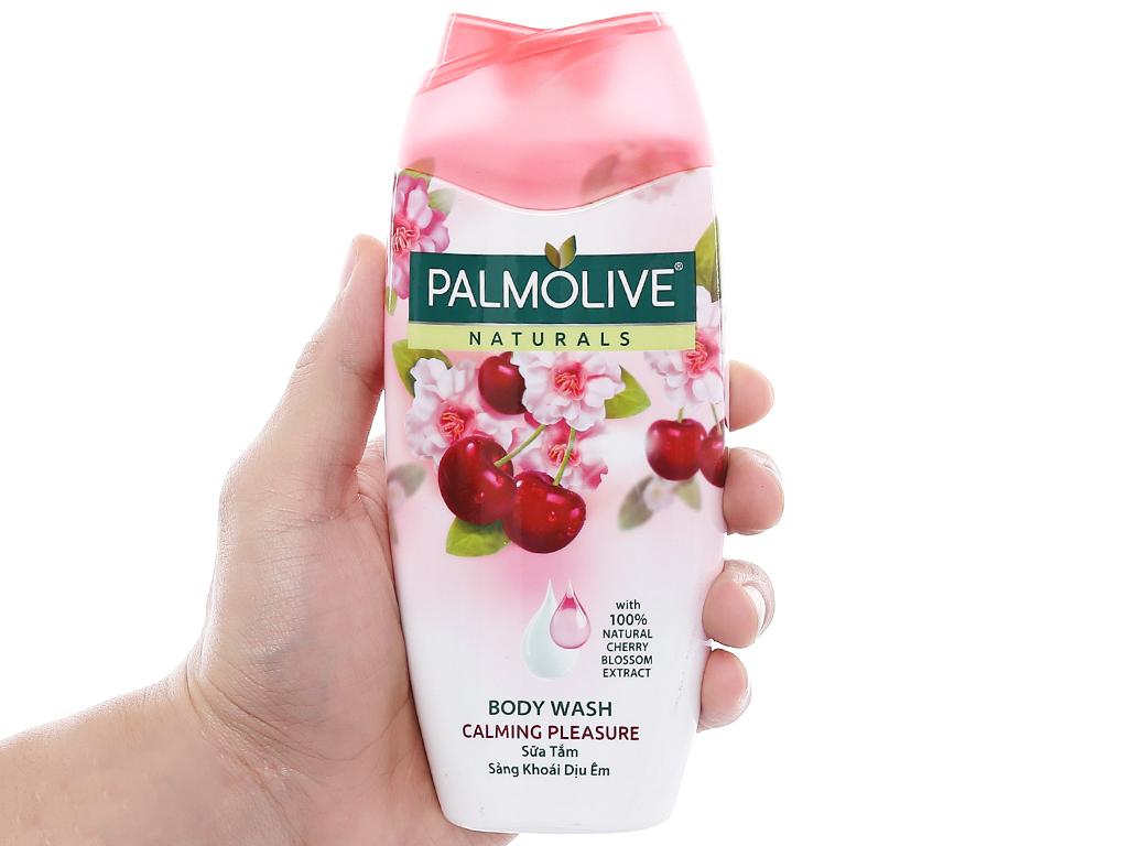Sữa tắm sảng khoái dịu êm Palmolive hoa anh đào 200g 4