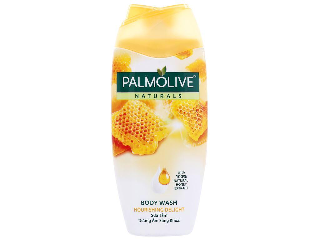 Sữa tắm dưỡng ẩm sảng khoái Palmolive mật ong 200g 1