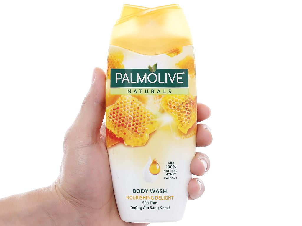 Sữa tắm Palmolive dưỡng ẩm sảng khoái mật ong 200g 4