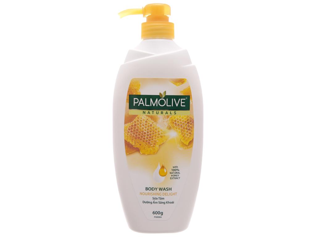 Sữa tắm dưỡng ẩm sảng khoái Palmolive mật ong 600g 2
