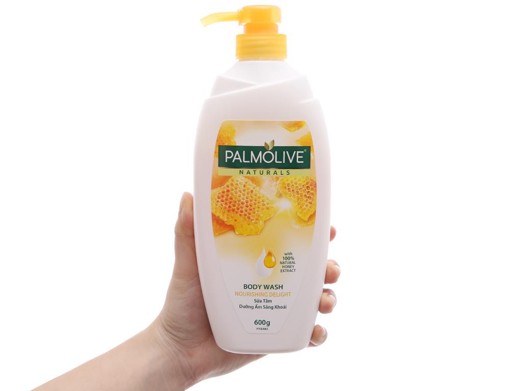 Sữa tắm dưỡng ẩm sảng khoái Palmolive mật ong 600g 4