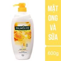 Sữa tắm Palmolive chiết xuất Mật Ong, Sữa chai 600g
