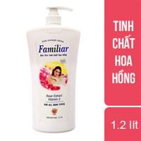 Sữa tắm tinh chất hoa hồng Familiar 1.2 lít
