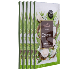 Sữa tắm ON THE BODY Coconut dưỡng ẩm 7g x 10 gói