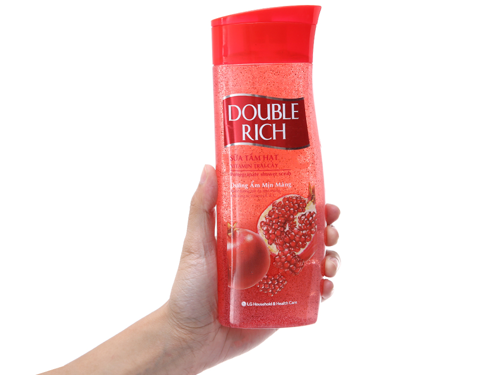 Sữa tắm Double Rich 420g 4