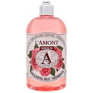 Sữa tắm dưỡng da trắng mịn L'amont Rose & Honey - Shower Gel hương hoa hồng 500ml