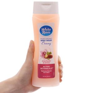 Sữa tắm White Rain bơ hạt mỡ & hoa lan 354ml