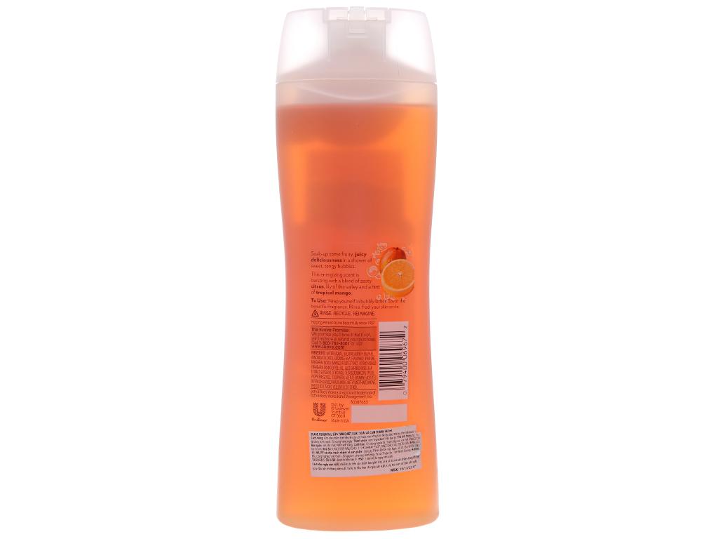 Sữa tắm Suave Essential xoài & cam 443ml 3