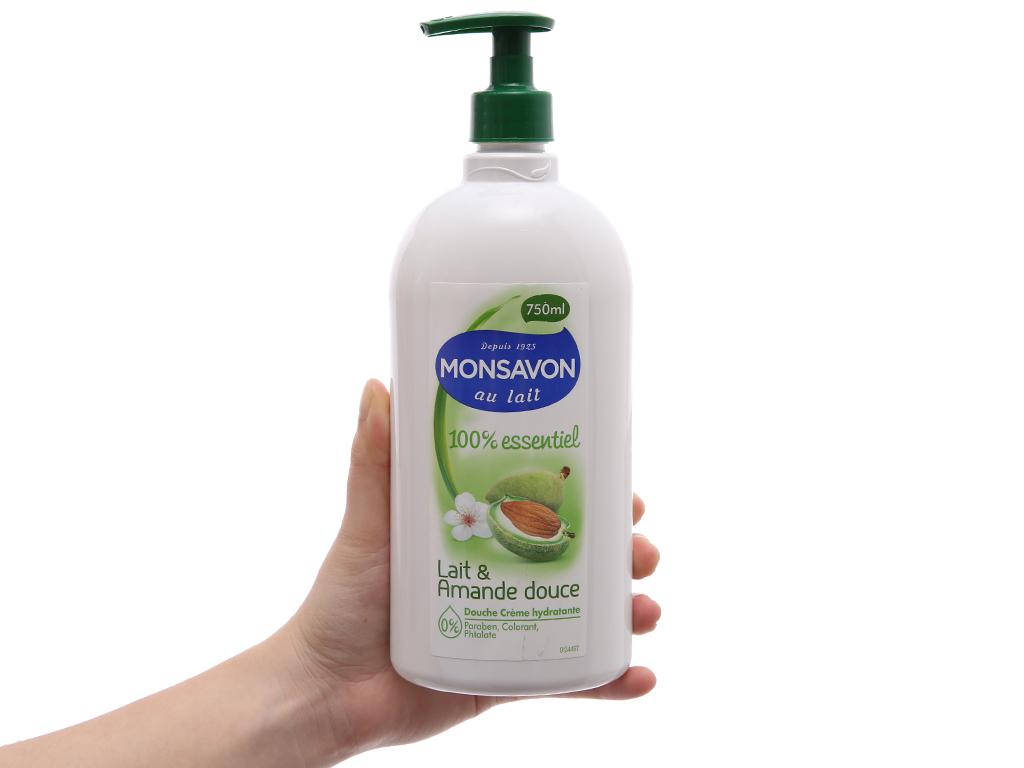 Sữa tắm Monsavon hạnh nhân & sữa 750ml 4