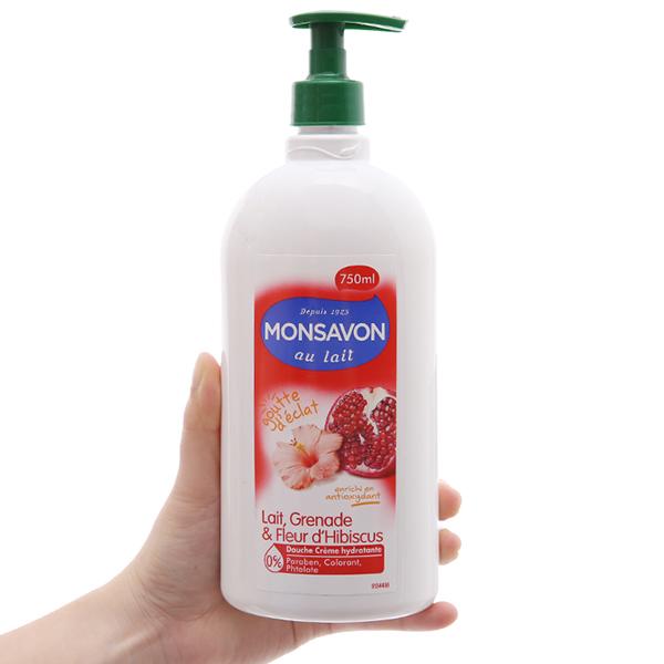 Sữa tắm Monsavon 750ml