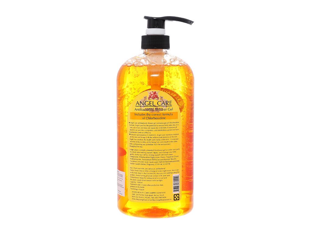 Sữa tắm Angelcare kháng khuẩn 1 lít 3