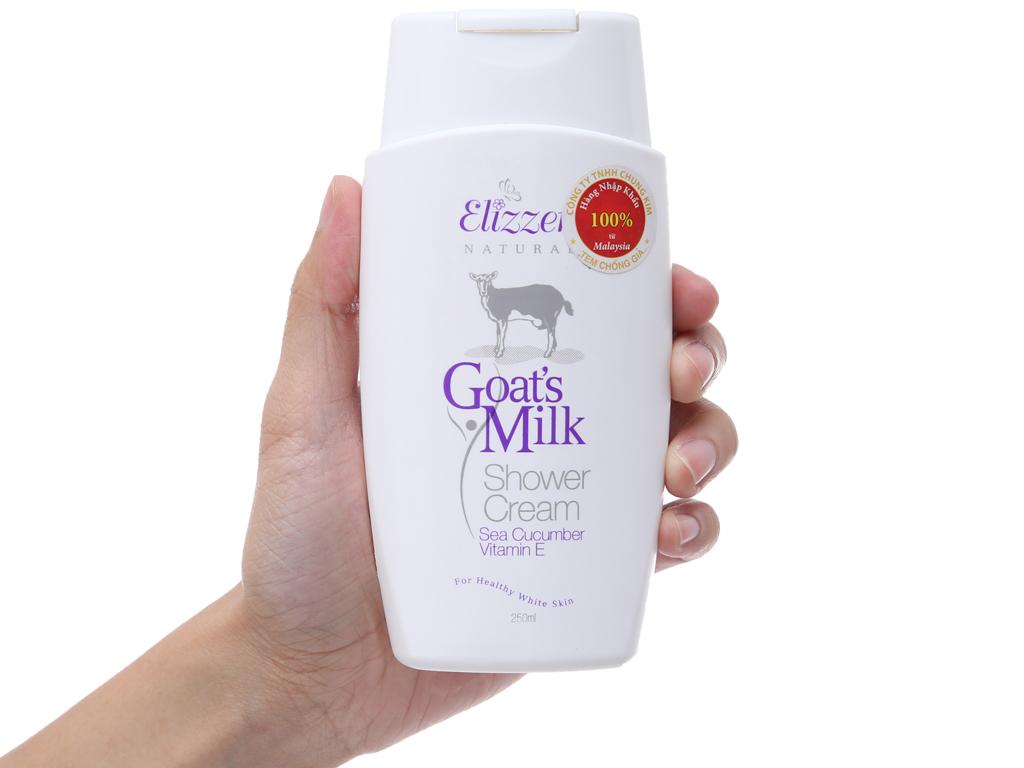 Sữa tắm Elizzer Natural tinh chất sữa dê 250ml 4