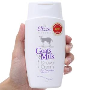 Sữa tắm Elizzer Natural tinh chất sữa dê 250ml