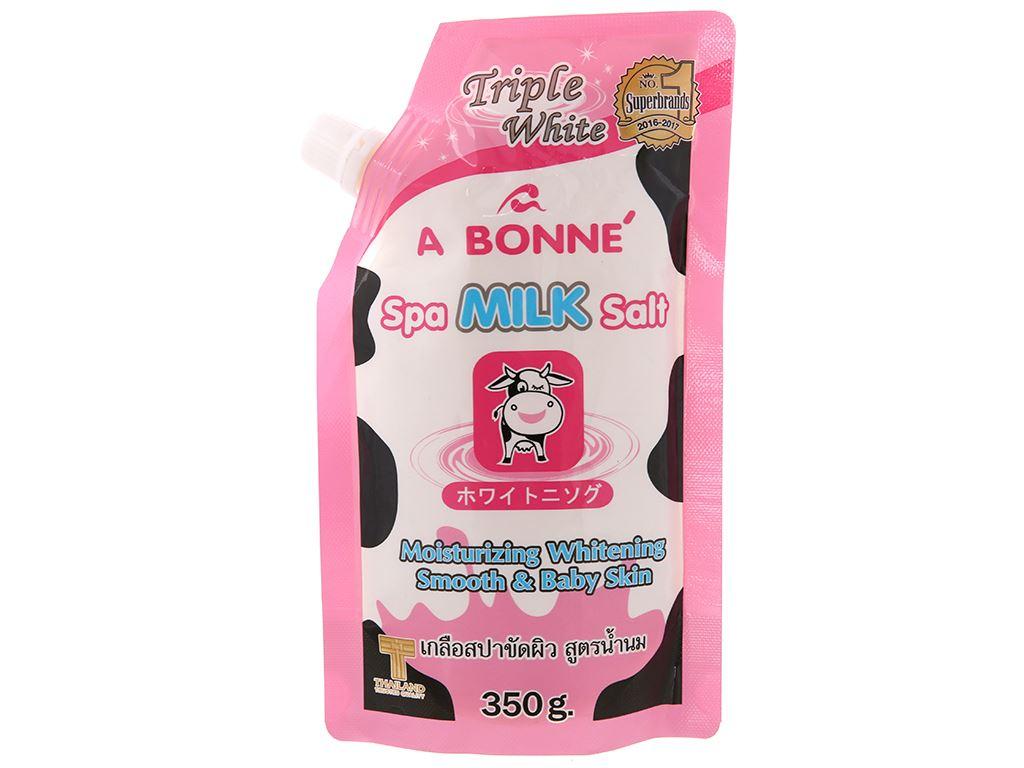 Muối sữa spa A Bonné Triple White 350g 2