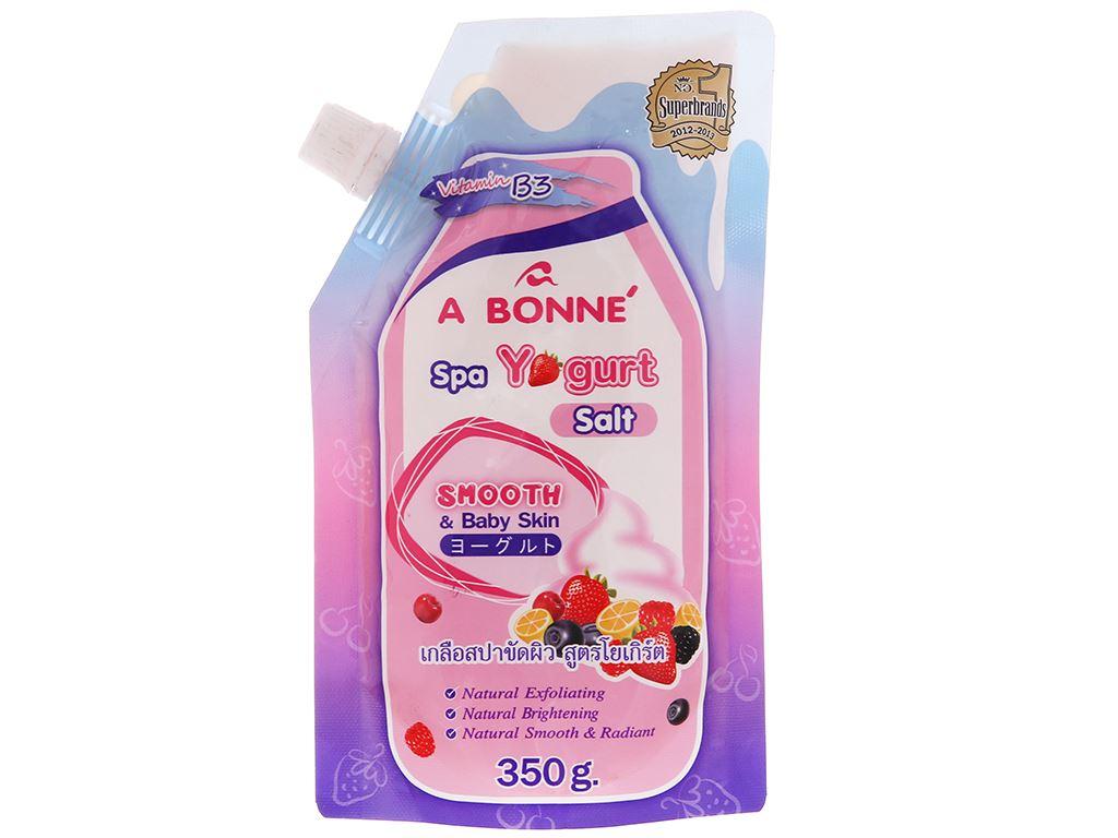 Muối tắm sữa chua spa A Bonné 350g 2