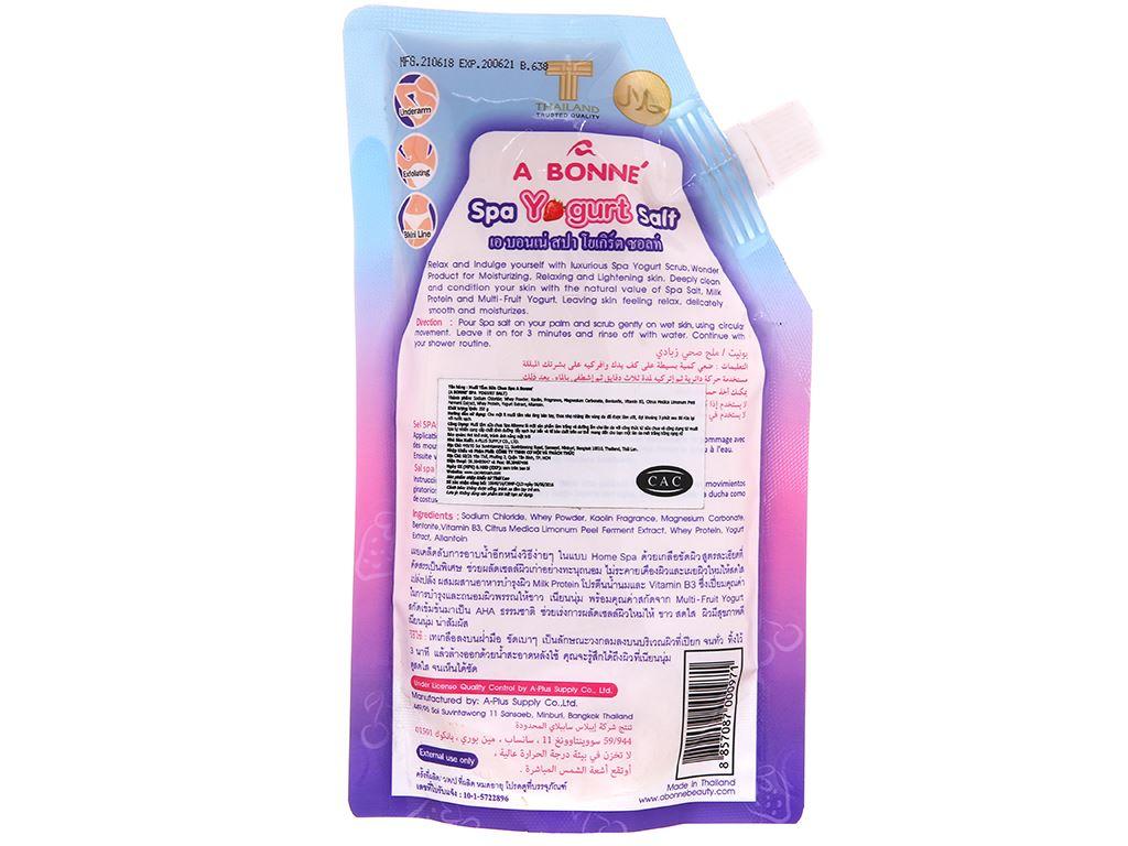 Muối sữa spa A Bonné Yogurt 350g 3
