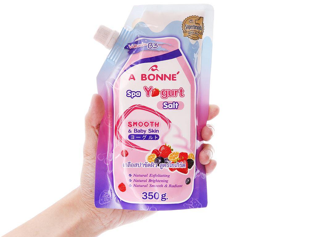 Muối sữa spa A Bonné Yogurt 350g 4